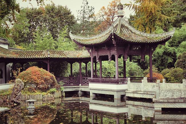 vodoem v sady v kitayskom stile